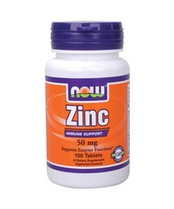 NOW - ZINC 50mg - 100tab