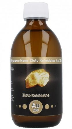 Złoto Koloidalne Au100 300 ml 10 ppm
