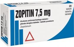 Zopitin 7,5 mg tabletki powlekane 7,5 mg