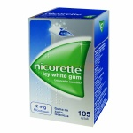 Nicorette Icy White Gum