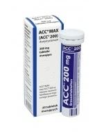 ACC Max 200 mg tabletki musujące