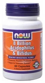8 Bilion Acidophilus i Bifidus