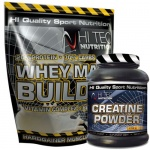 Whey Mass Builder  + Creatine Powder