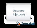 Aqua pro injectione