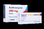 Azithromycin + Suprax