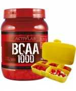 BCAA 1000 XXL + Pill Box