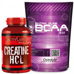 Creatine HCL  + Extra Pure BCAA 2:1:1