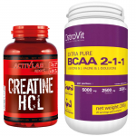 Creatine HCL + Extra Pure BCAA