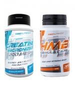 CREATINE MICRONIZED 200 MESH + HMB Formula Caps