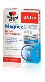 Doppelherz aktiv Magnez 400 Retard