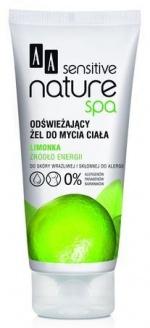 AA Sensitive Naturalne Spa żel do mycia ciała odświeżający