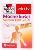 Doppelherz Aktiv Mocne kości Calcium 1500 + vit D