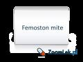 Femoston mite