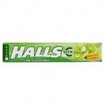 Halls Vita C lime flavour