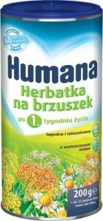 Humana Herbatka na brzuszek