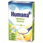 Humana kaszka mleczna z bananami