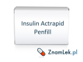 Insulin Actrapid Penfill
