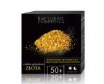 Krem z mikrocząsteczkami złota 50+
