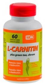 L-Karnityna z zieloną herbatą i chromem