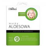 L'Biotica maska aloesowa na tkaninie