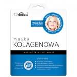 L'Biotica Maska Kolagenowa na tkaninie