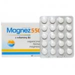 Magnez 550 + wit. B6