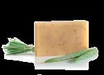 Mydło aloesowe z indyjską trawą cytrynową