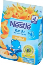Nestle kaszka mleczno-ryżowa morela