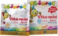 Vita-Min Plus Junior Multiwitamina malinowy