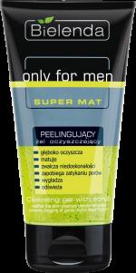 Only for Men SUPER MAT Peelingujący żel oczyszczający