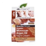 Organiczny Krem na Noc Marokański Olej Arganowy