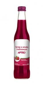 Syrop o smaku malinowym APTEO