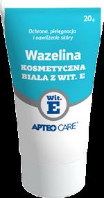 Wazelina kosmetyczna biała z Wit. E