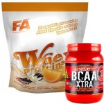 Whey Protein + BCAA XTRA