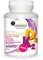 Witamina K2 Forte MK-7+D3