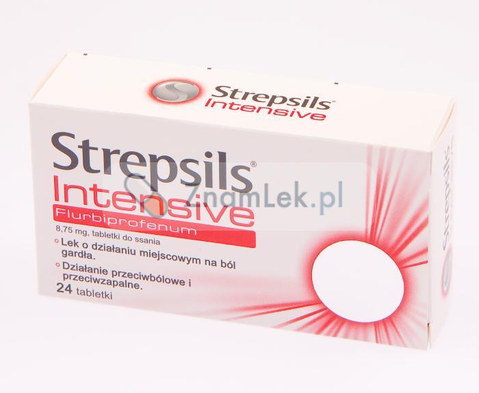 Strepsils Intensive - Opinie - Cena - Zamienniki - Ulotka - Skład •  ZnamLek.pl